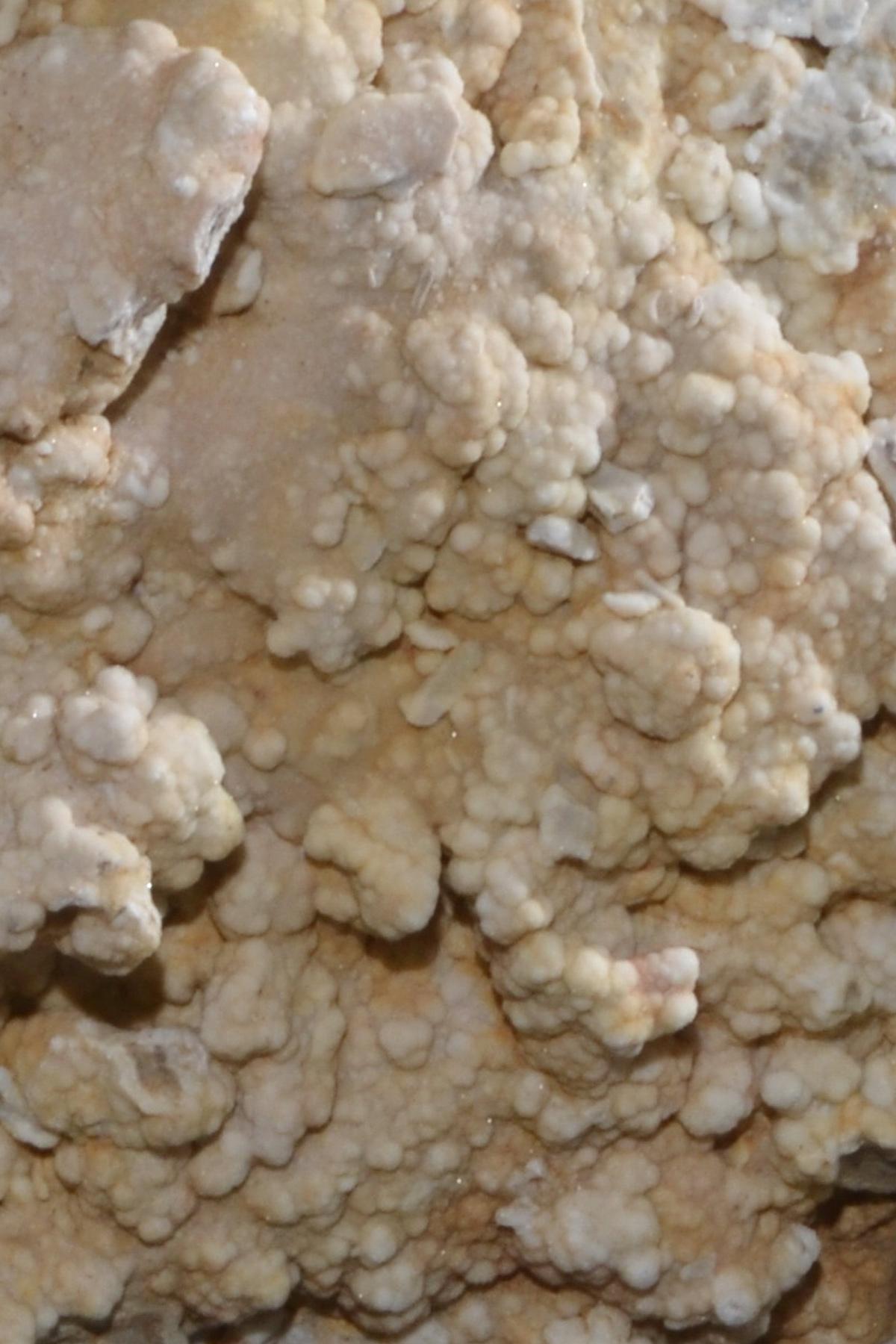 Kalkstein gespalten